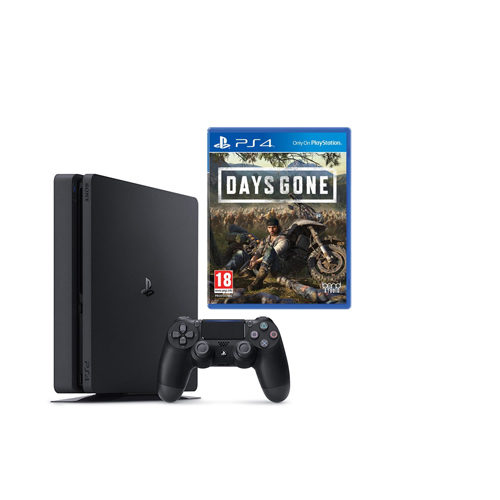 Sony PS4 - 500GB Black Console - Days Gone Bundle