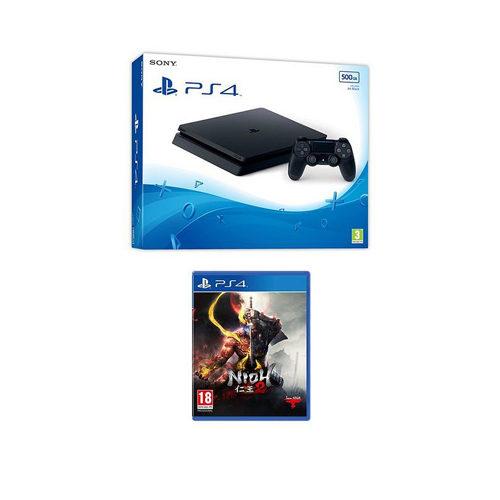 Sony PS4 - 500GB Black Console - Nioh 2 Bundle