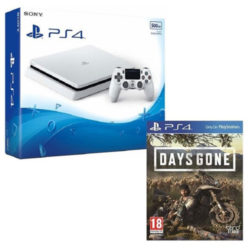 Sony PS4 - 500GB White Console - Days Gone Bundle
