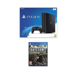 Sony PS4 Pro - 1TB Black Console - Days Gone Bundle