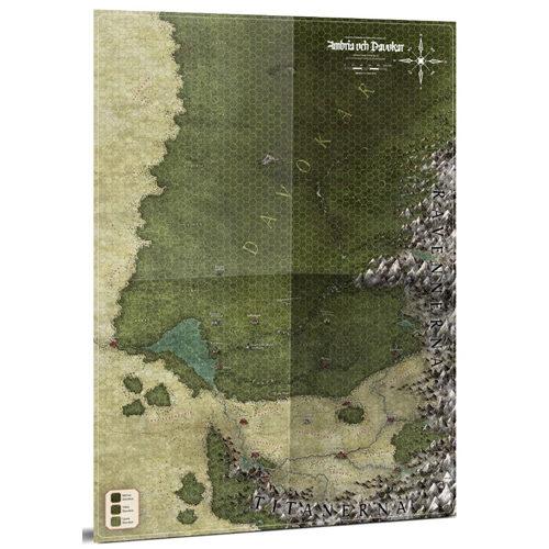 Symbaroum RPG - Symbar and Davokar Hex Map