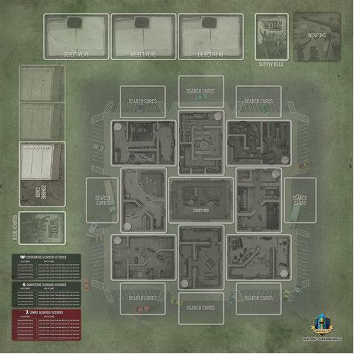Tiny Epic Zombies Game Mat