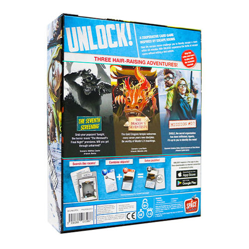 Unlock 7! Epic Adventures