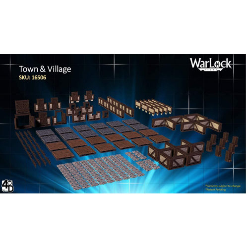 WarLock Tiles: Town and Village