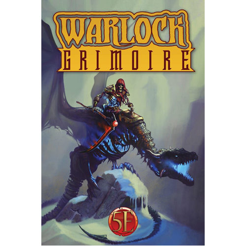 Warlock Grimoire Hardcover for 5th Edition