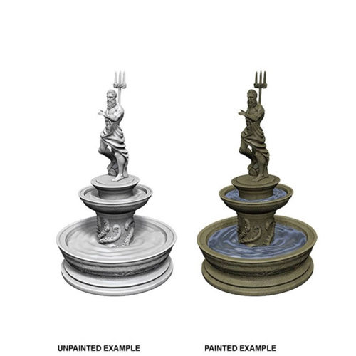 WizKids Deep Cuts Unpainted Miniatures (W10) - Fountain