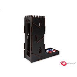 e-Raptor Dice Tower: Black Castle