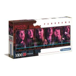 Stranger Things Characters Panorama Puzzle