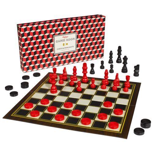 *A Grade* Chess & Checkers Set