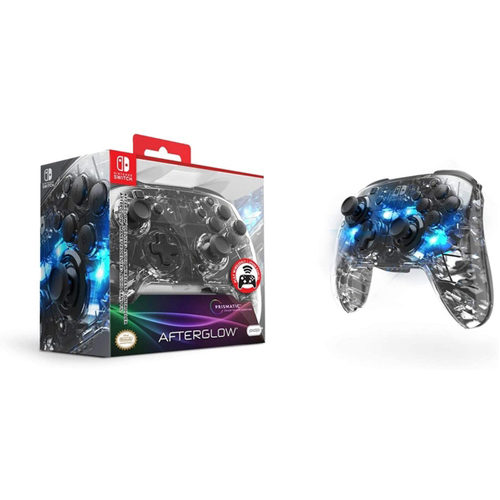 Afterglow Wireless Deluxe+ Prismatic Nintendo Switch Controller