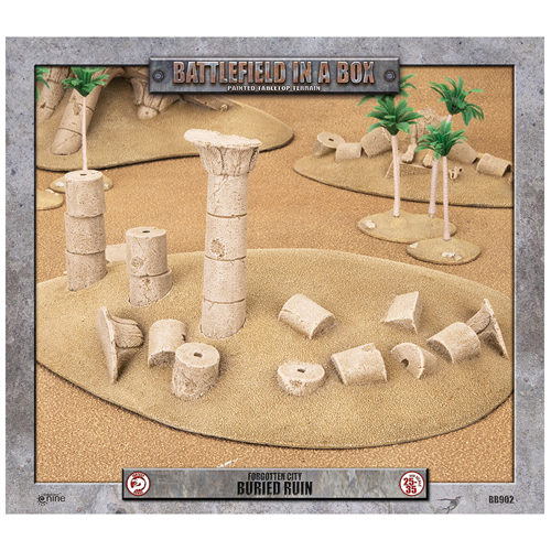 Battlefield In A Box: Forgotten City - Buried Ruin - 30mm