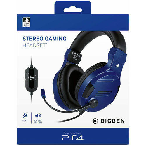 BigBen Sony Official Stereo Gaming Headset - Blue