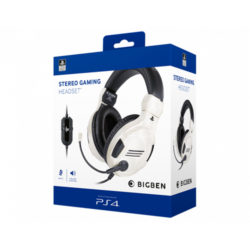 BigBen Sony Official Stereo Gaming Headset - White