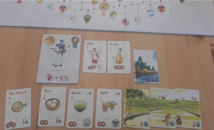 Board Game Journey Pt2 Tokaido Body 1