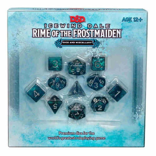 D&D: Icewind Dale - Rime of the Frostmaiden Dice Set