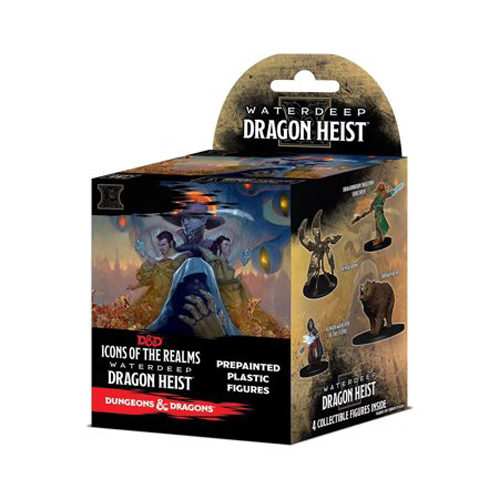 D&D: Icons of the Realms Set 9 - Waterdeep Heist Booster Pack