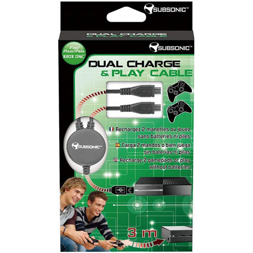 Dual Charge Play Cable - Xbox One
