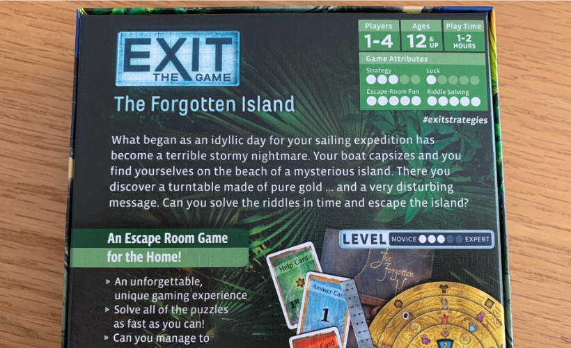 EXIT the Game Guide Body 4