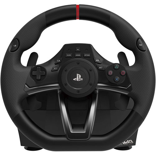 HORI Officially Licensed PlayStation 4: Racing Wheel Apex - Black (PS4)