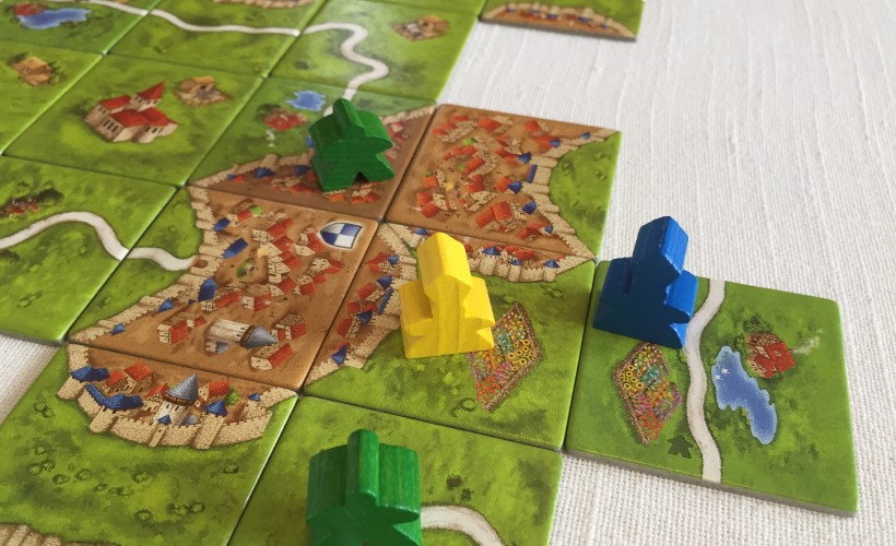 How to Play Carcassonne - abbot