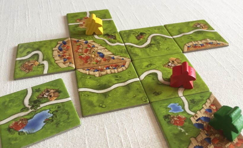 How to Play Carcassonne - placing a road