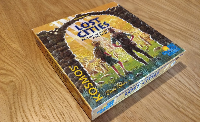 Lost Cities Card Game Body 5