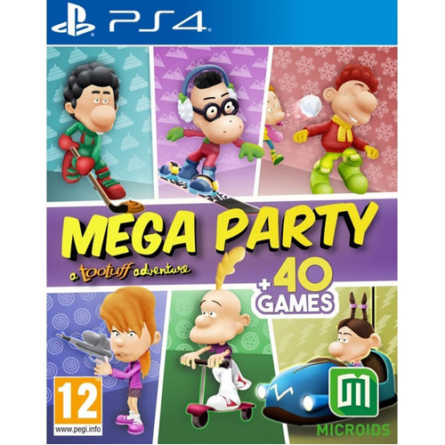 MEGA PARTY - a Tootuff adventure - PS4