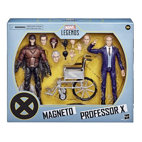 Marvel Legends Series: X-Men - Magneto And Professor X Action Figures
