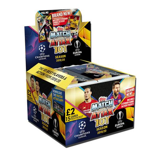 Match Attax 101: 2019/20 15 Card Booster Box