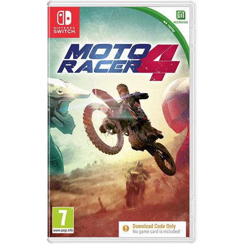 Moto Racer 4 CODE-IN-A-BOX - Nintendo Switch