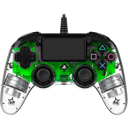 Nacon Commpact Wired Illuminated PS4 Controller - Green