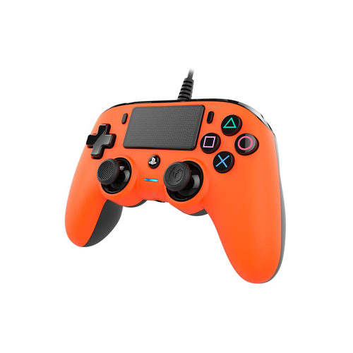 Nacon Commpact Wired PS4 Controller - Orange