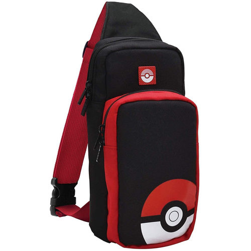 Nintendo Switch Adventure Pack Travel Bag - Poke Ball Edition