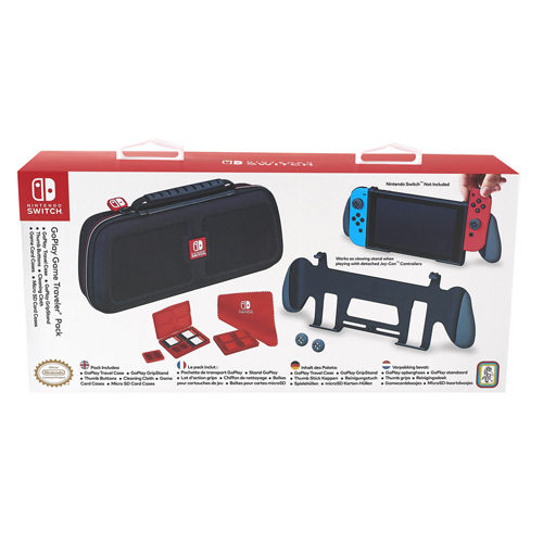 Nintendo Switch Deluxe Travel Case with Grip and Stand