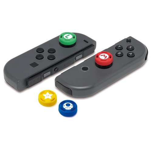 Nintendo Switch Super Mario Analog Stick Caps