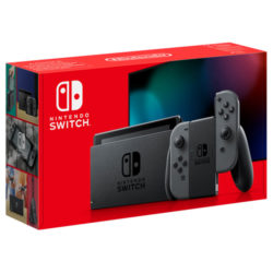 Nintendo Switch with Grey Joy-Con