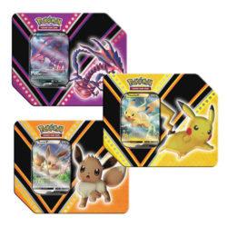 Pokemon TCG: V Power Tin - 3 Set