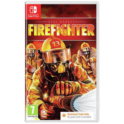 Real Heroes: Firefighter - (download code only) - Nintendo Switch