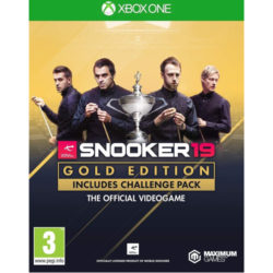 Snooker 19 Gold Edition - Xbox One