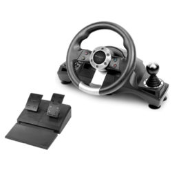 Subsonic Universal Pro Driving Wheel with Pedals
