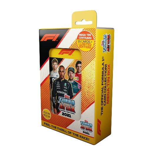 Topps F1 Turbo Attax Mega Pack