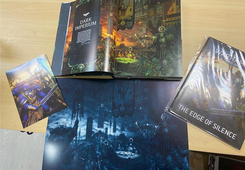 Warhammer 40K Indomitus Review Artwork