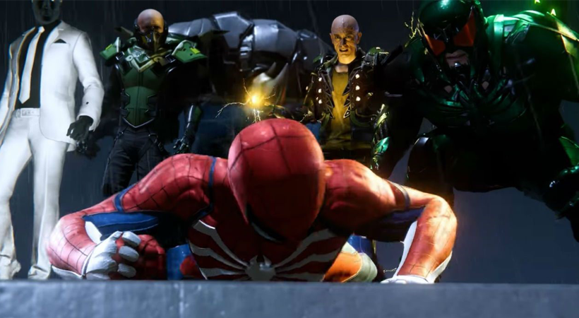 spiderman ps4 4