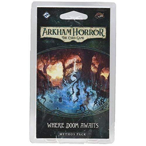 *A Grade* Arkham Horror LCG: Where Doom Awaits Mythos Pack Expansion