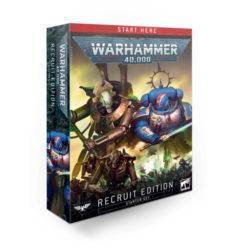*B Grade* Warhammer 40K: Recruit Edition Starter Set