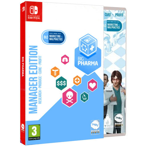Big Pharma Manager Edition - Nintendo Switch
