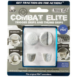 Combat Elite Thumb & Trigger Grips Pack: Urban Camo - PS4