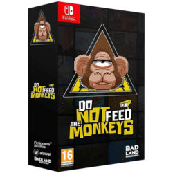 Do Not Feed The Monkeys - Collectors Edition - Nintendo Switch