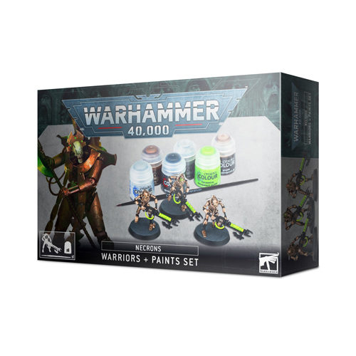 Warhammer 40K: Necrons - Warriors and Paints Set