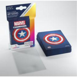 Gamegenic Marvel Champions Art Sleeves - Captain America (50)
